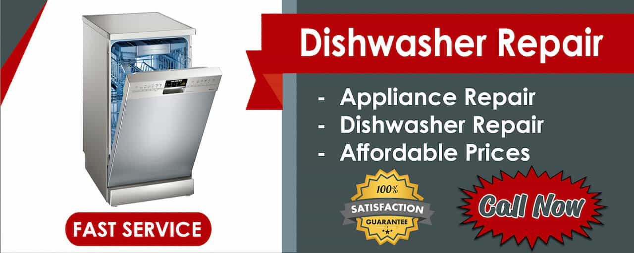 diswasher repair banner