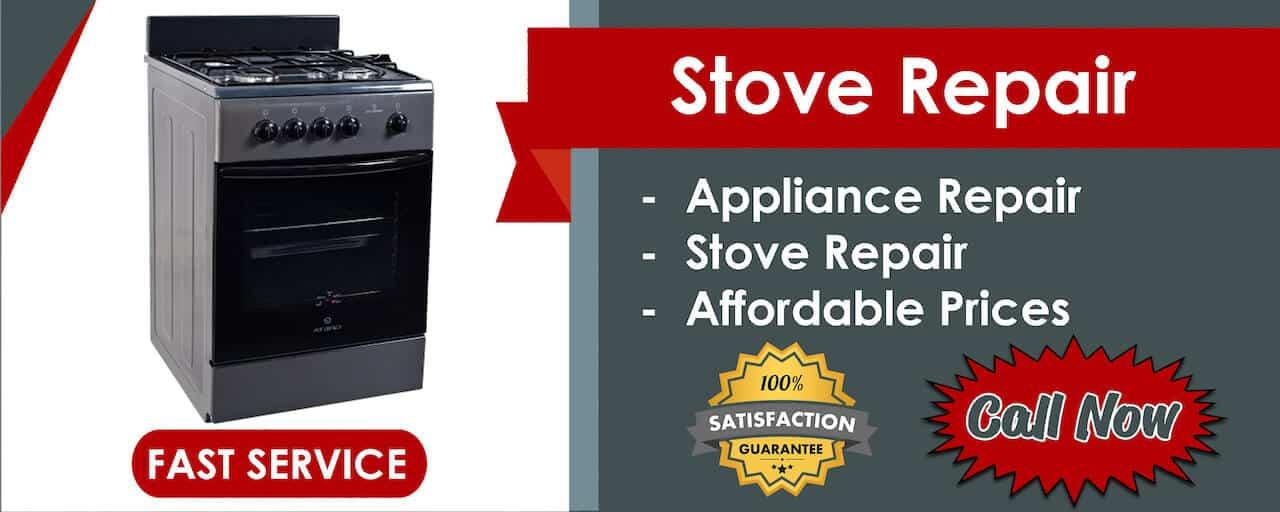 stove repair banner